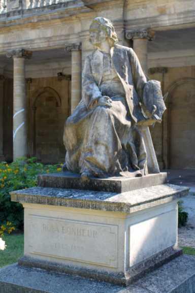 Statue Rosa Bonheur im Jardin public Bordeaux (Foto: Symac / Sylvain Machefert)