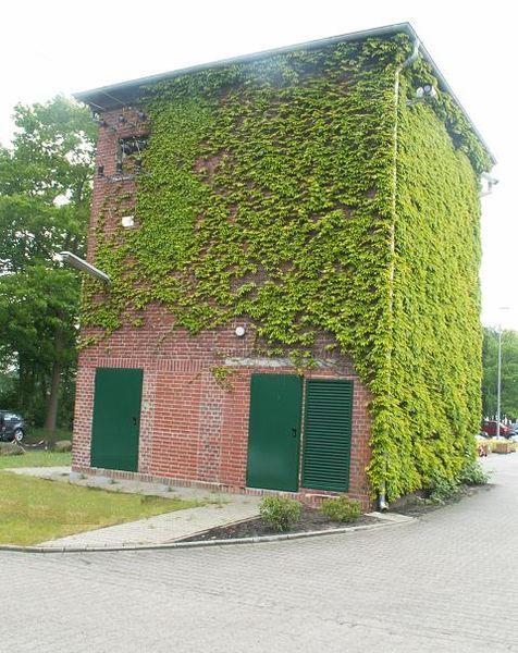 ehemaliges Emsland- Lager Versen, Transformatorenstation (Foto: Dennis Peeters)