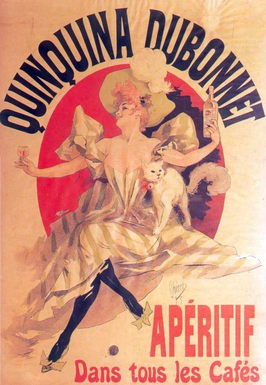 Dubonnet (Werbe-Plakat, Jules Chéret, 1895)
