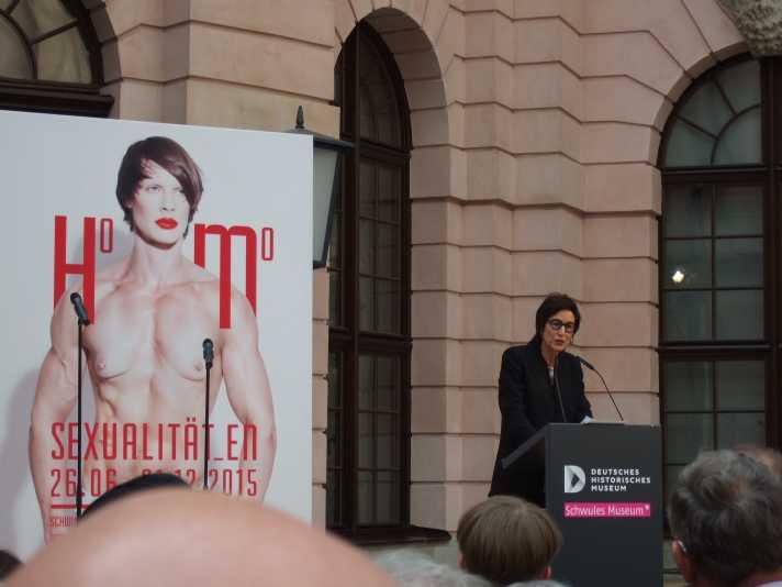 Homosexualität_en Berlin 2015, Hortensia Völckers, Künstlerische Direktorin Kulturstiftung des Bundes