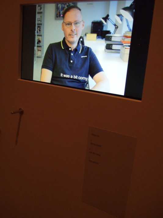 Ausstellung Homosexualität_en 2mecs Coming-out Erinnerungen Frank