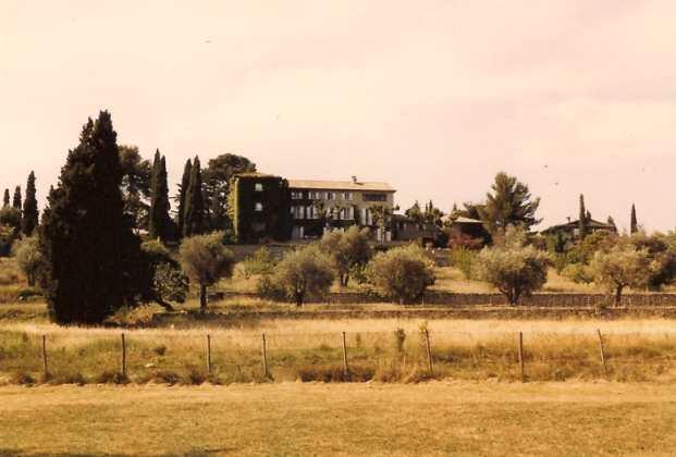 von Maurice Gridaine 1947 erworben: das Manoir de l Etang, hier im August 1987