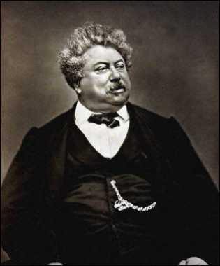 Alexandre Dumas der Ältere, Fotografie von Étienne Carjat