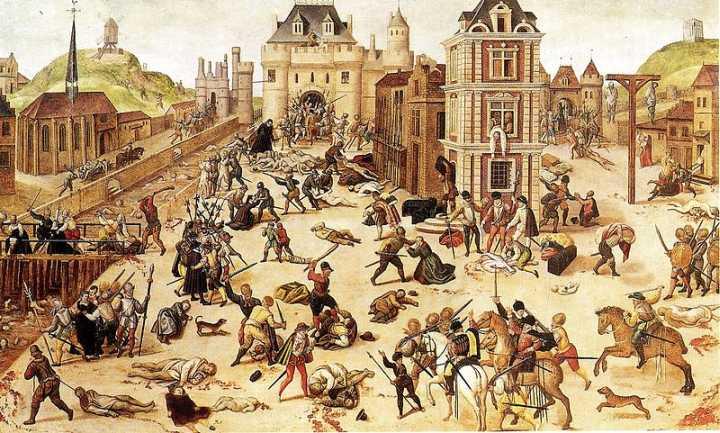 Bartholomäusnacht, François Dubois (1529–1584)
