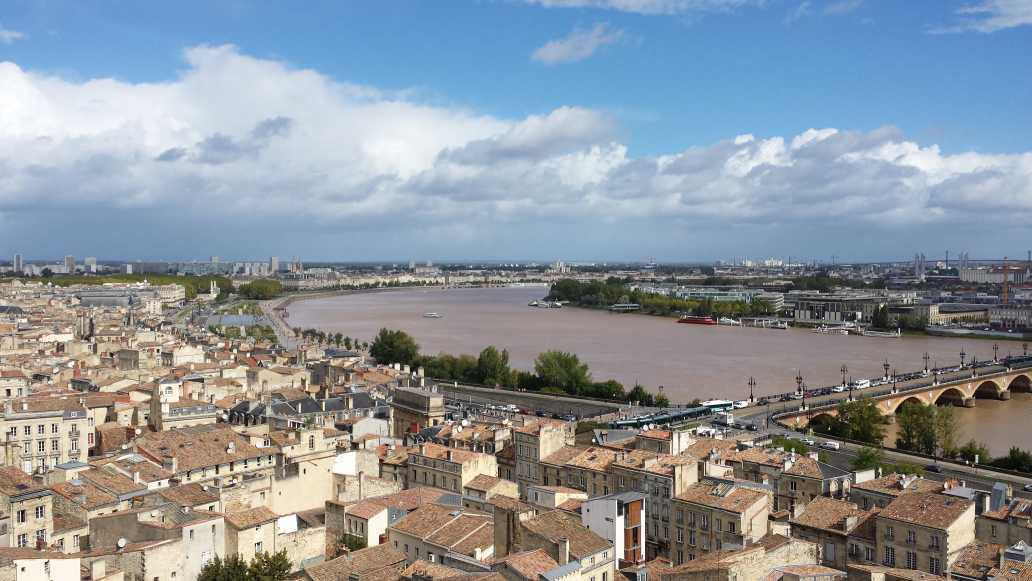 Bordeaux Panorama Blick panoramic vue