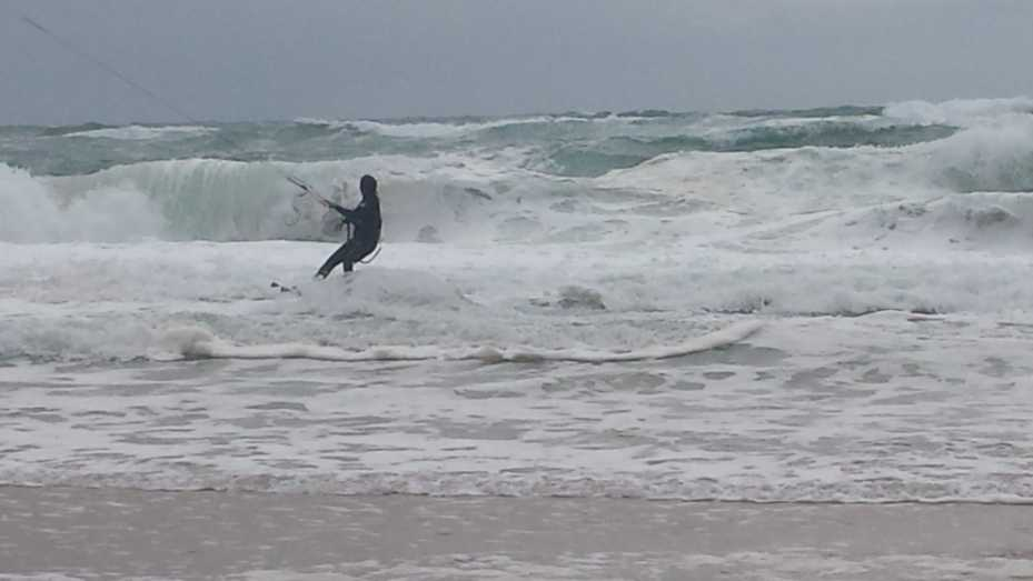 Kite Surfer Lacanau Océan