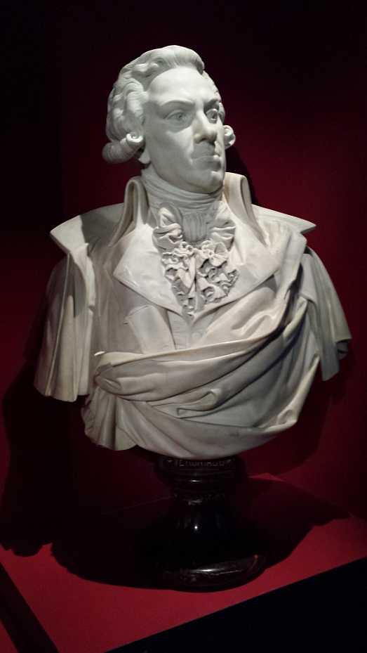 Pierre Victournien Vergniaud, Büste von Charles Auguste Arnaud, Bordeaux Musée d'Aquitaine