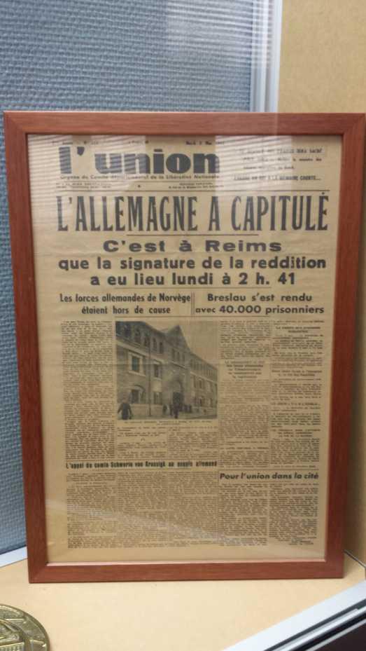 Reims 7. Mai 1945, 2:41 Uhr: Deutschland hat kapituliert