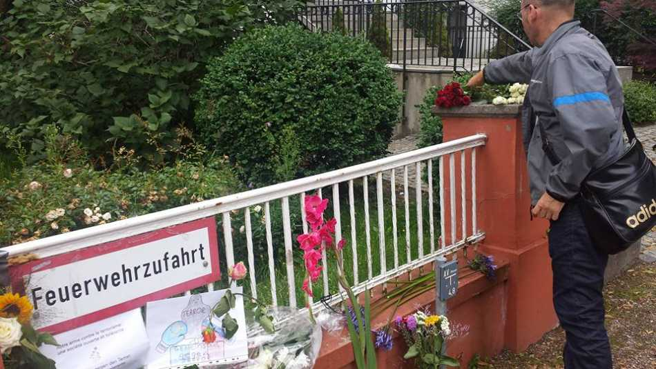Solidarität mit Frankreich - Institut francais Hamburg, Juli 2016