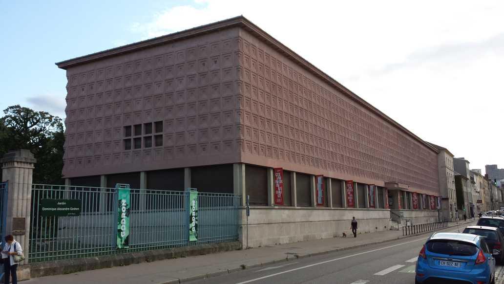 MAN Museum Aquarium Nancy Ansicht Strassenseite