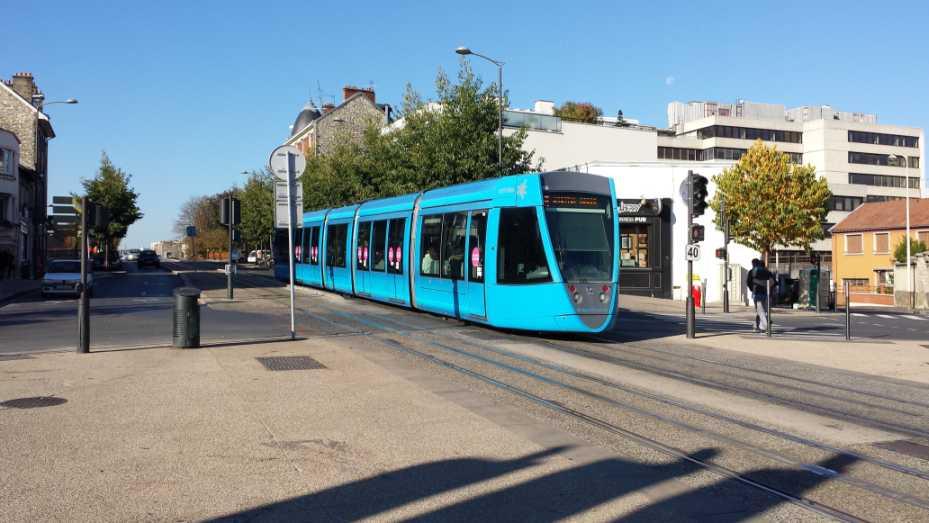 Reims Strassenbahn