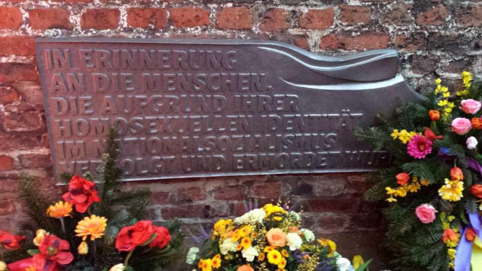 Denkmal für im Nationalsozialismus verfolgte Homosexuelle in Lübeck