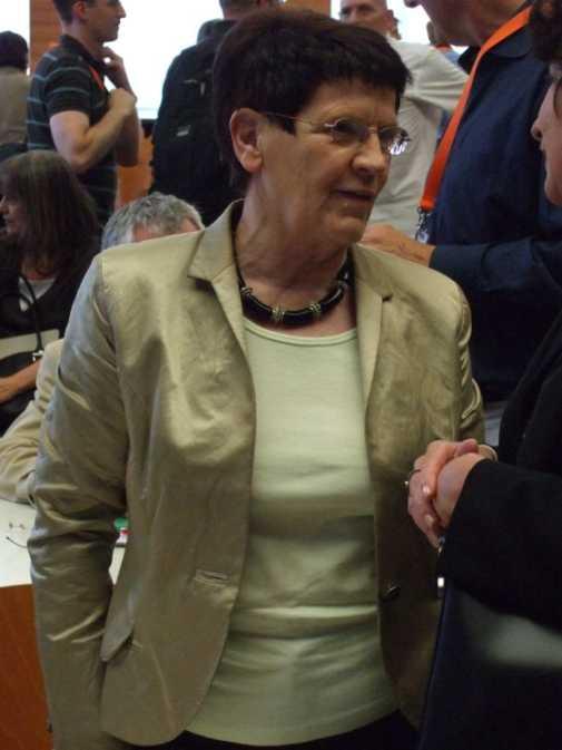 Rita Süssmuth im Juni 2008 auf der Ethik-Konferenz der Deutschen Aids-Hilfe