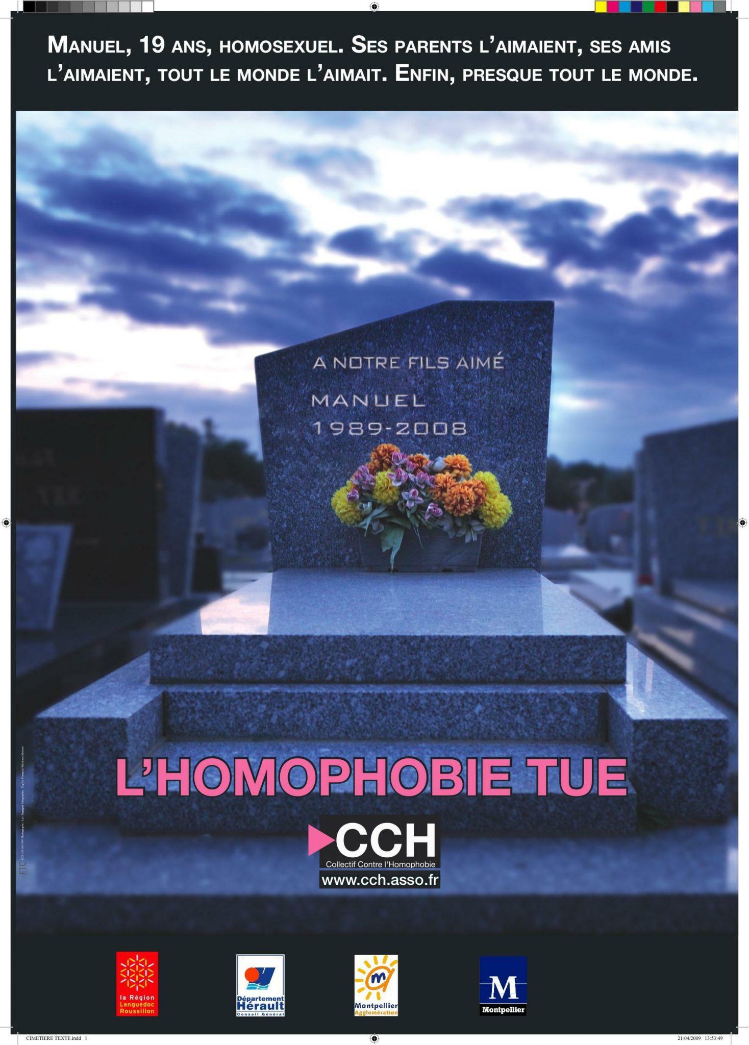l'homophobie tue - Homophobie tötet (c) CCH