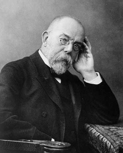 Robert Koch Fotogravur nach einer Fotografie von Wilhelm Fechner, um 1900