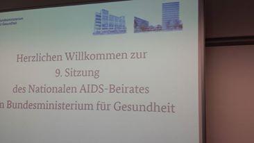 Abschaffung Nationaler Aids Beirat ? (hier: Begrüung zur 9. Sitzung des NAB März 2015)