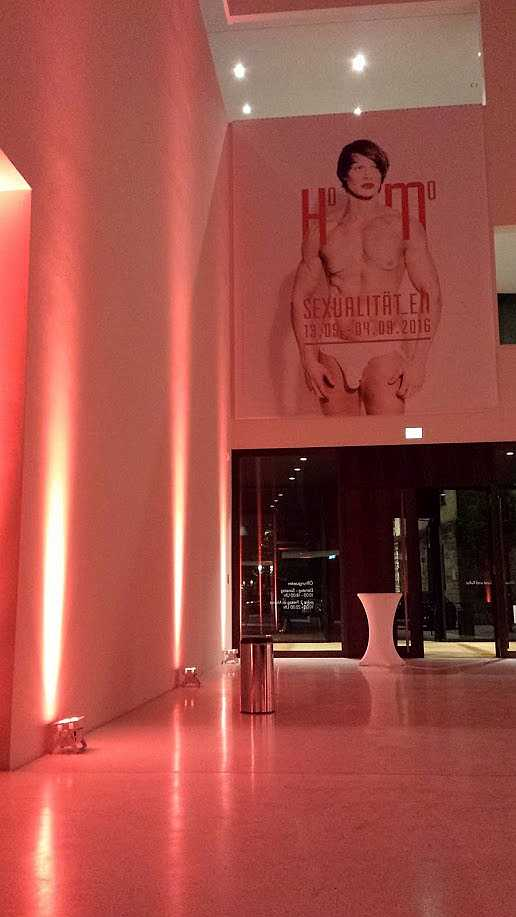 Homosexualitäten Münster, Plakat im LWL am Eröffnungsabend