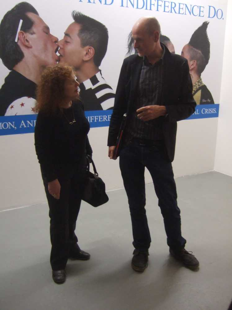 Frank Wagner und Nan Goldin, nGbK, Januar 2014