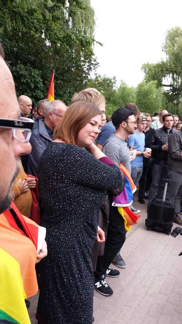 Rede der Zweiten Bürgermeisterin und Gleichstellungssenatorin Hamburgs, Katharina Fegebank, nach ihrem Statement