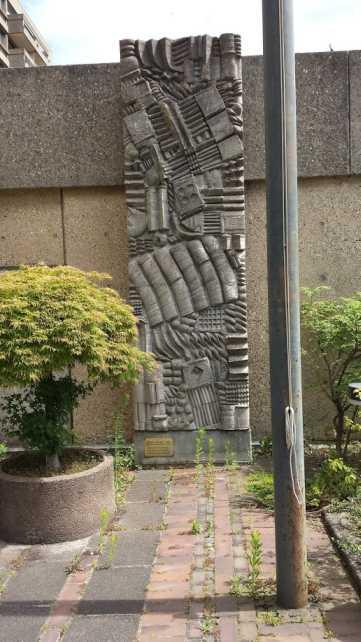 ex Maritim Grand Hotel Hannover - Werner Schreib 1965 Monument für Reisende