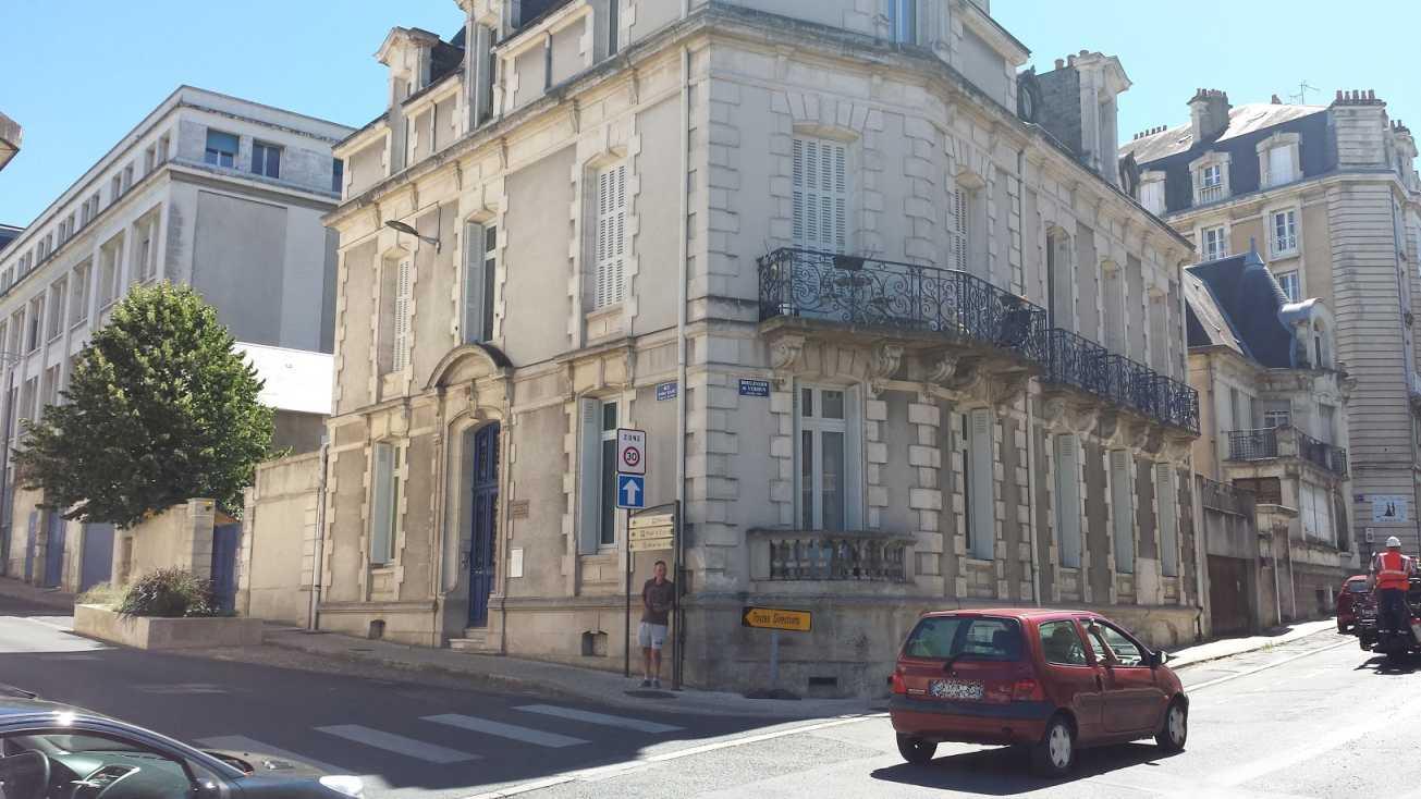 Michel Foucault Geburtshaus in Poitiers