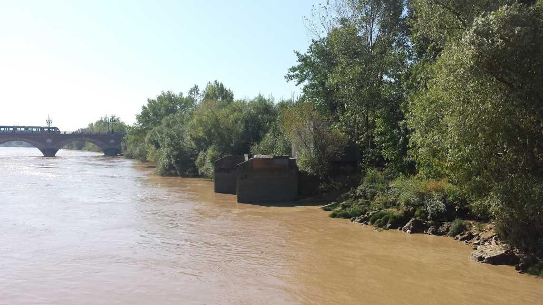 SENEOH Bordeaux hydroelektrische Versuchanalage (Anlage am Fluss)