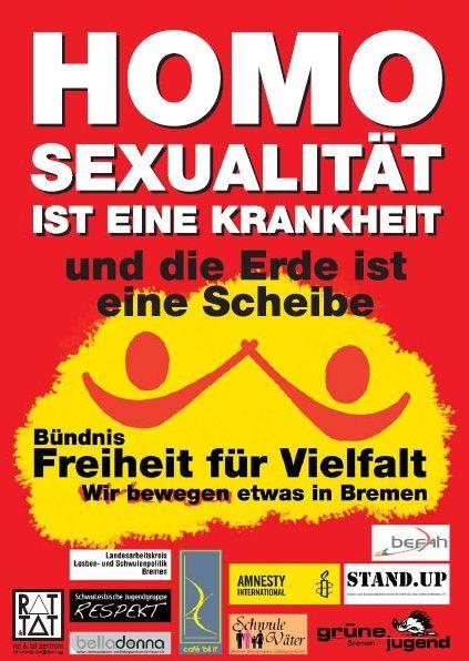 Homosexualität Krankheit Deutschland