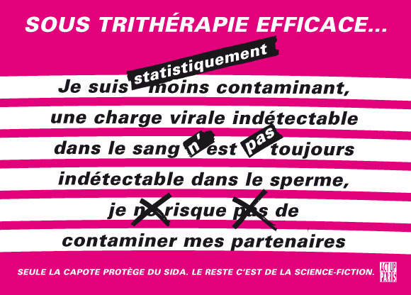 ACT UP Paris zur Viruslast-Methode (c) ACT UP Paris