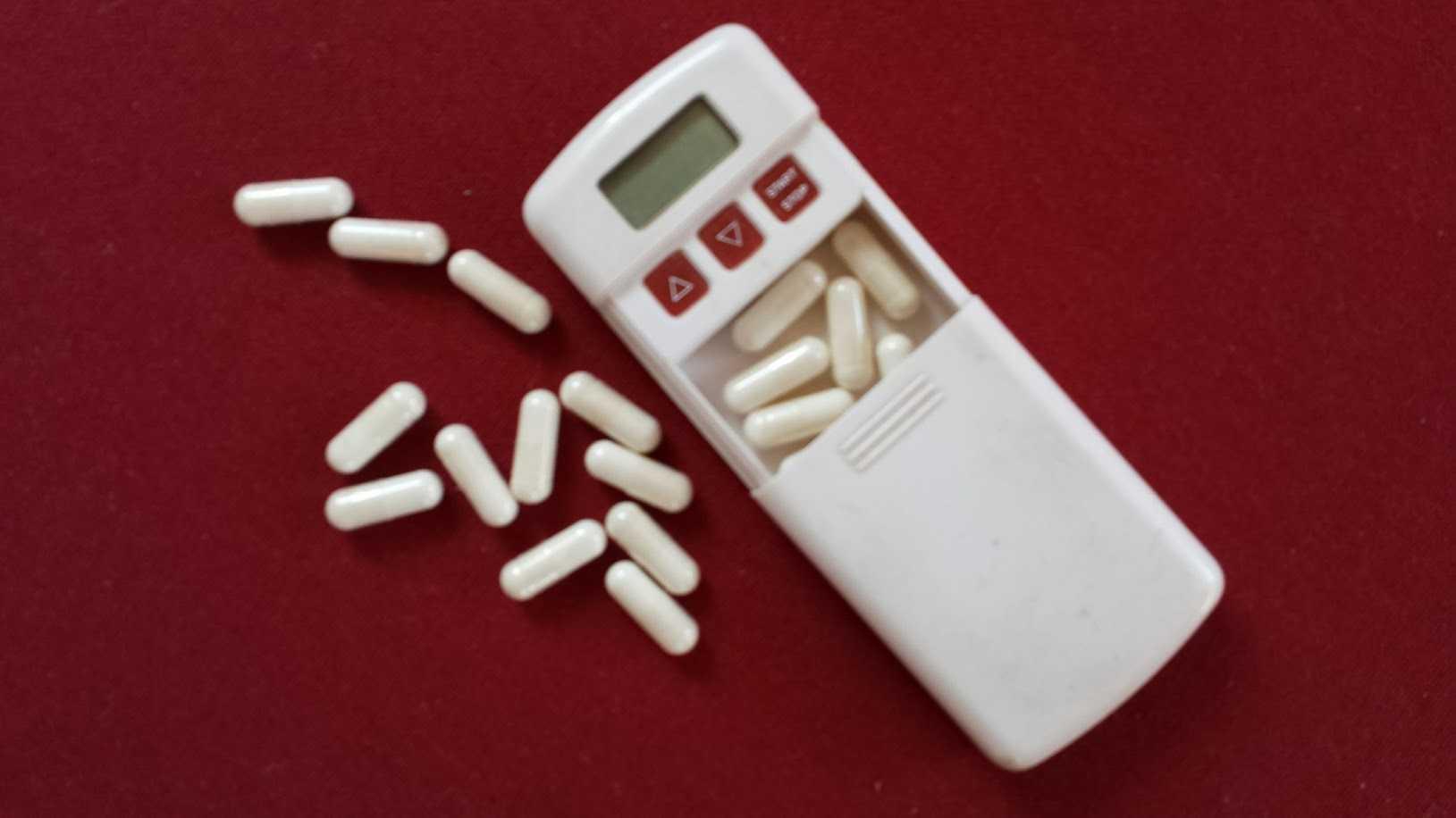 Pillenwecker wie in der 'frühen AZT Zeit' gebräuchlich
