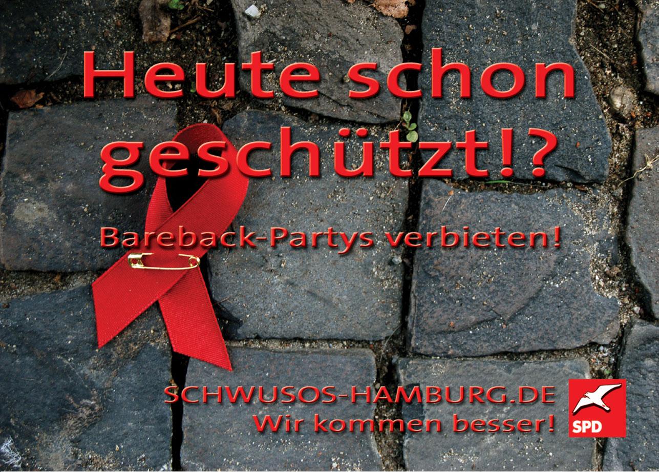 2008: die Schwusos hamburg wollen Bareback verbieten