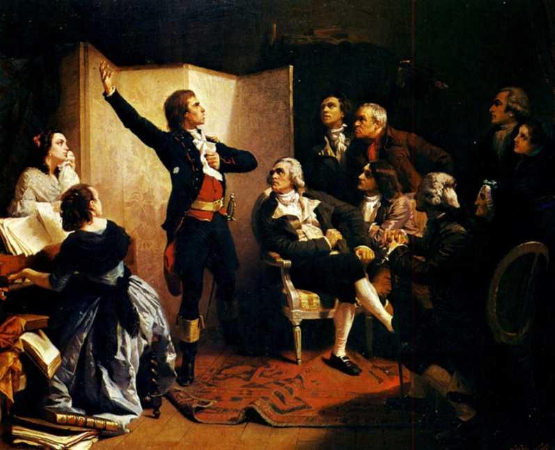 Isidore Pils 1849: Rouget de Lisle chantant la Marseillaise (gemeinfrei)