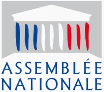Logo der Assemblée nationale (Nationalversammlung, Parlament)