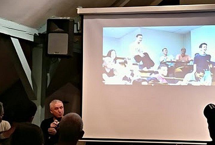 Robin Campillo, Regisseur von '120 BPM', bei einer Diskussion in Berlin Anfang November 2017