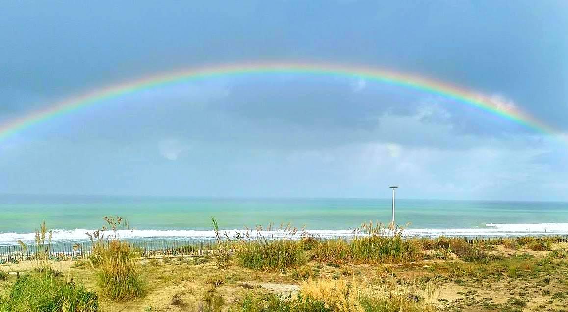 Lacanau Regenbogen - arc en ciel, bord de mer à Lacanau