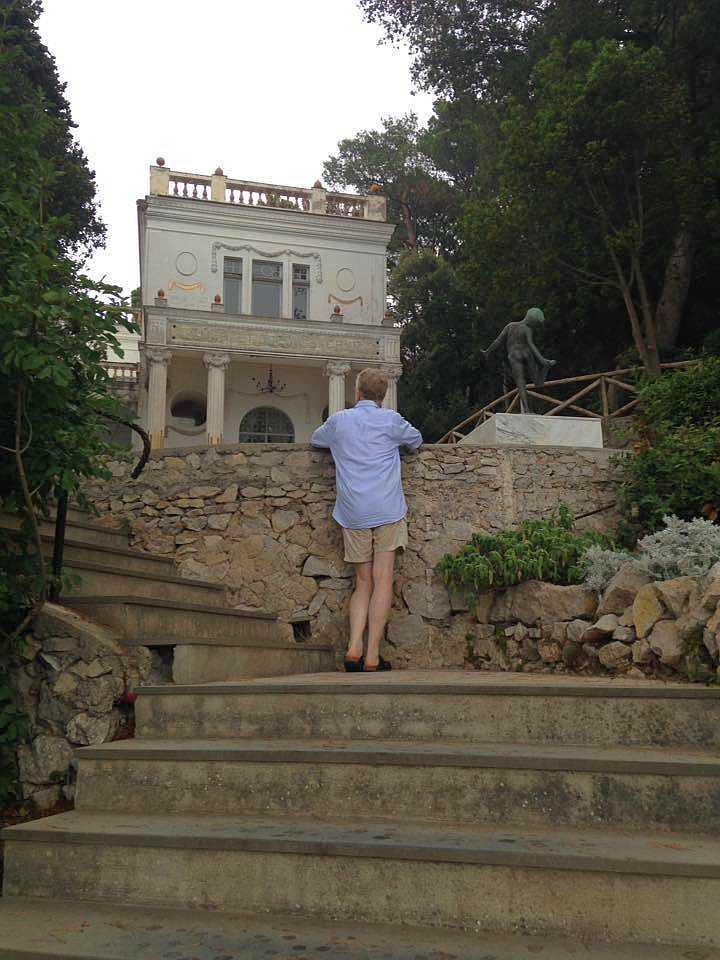 Villa Lysis / Villa Fersen auf Capri (Foto(c) Stefan M. Weber)