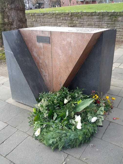 Gedenkstein für homosexuelle NS-Opfer Köln (2014)