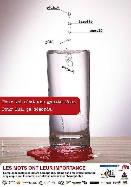 Homophobie Kampagne 2010 des Caelif (c) Caelif