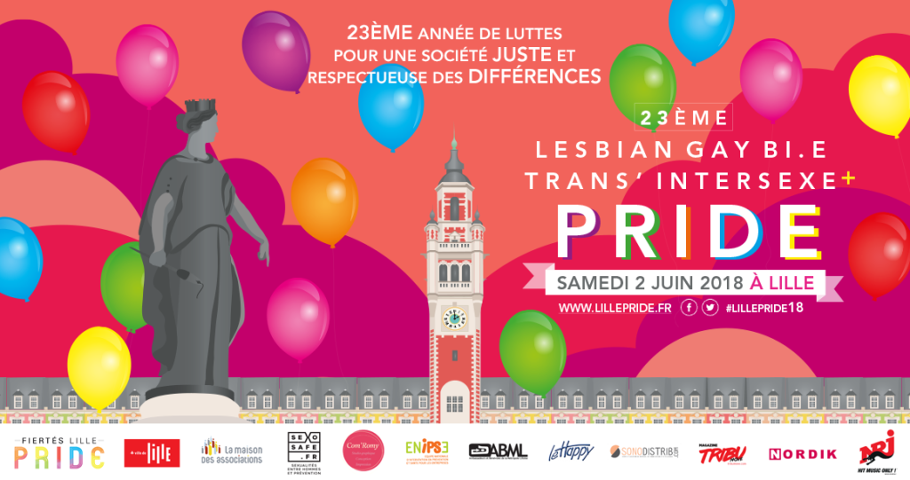 Lille Pride 2018 (c) Lille Pride