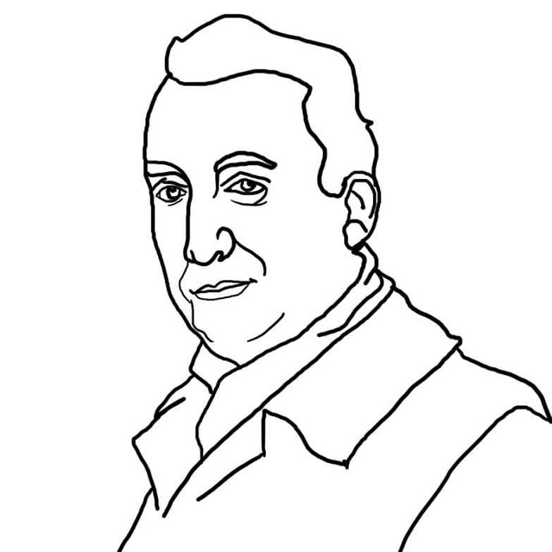 Roland Barthes Zeichnugn (Jahan98, Lizenz cc by-sa 4.0)