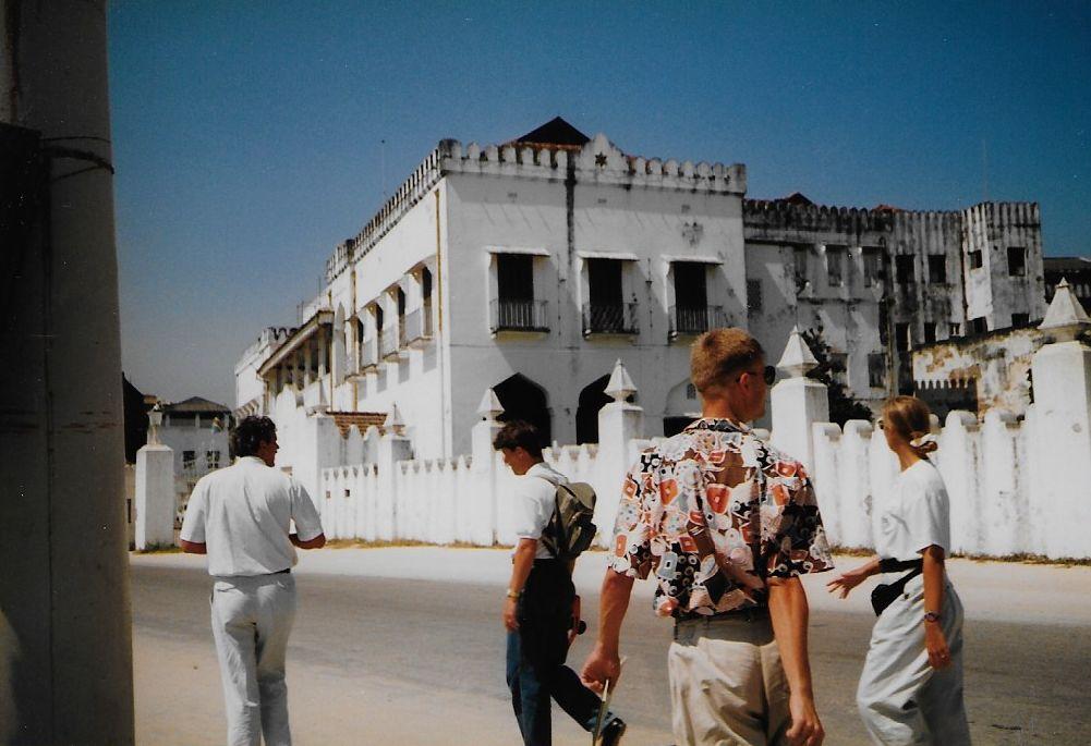 Ulli auf Sansibar 1991