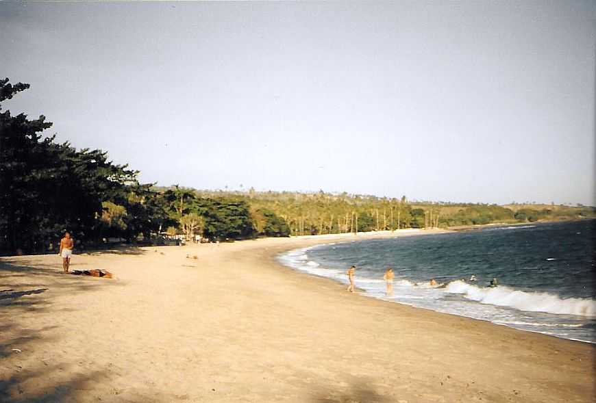 Senggigi Beach Lombok Indonesien 1995