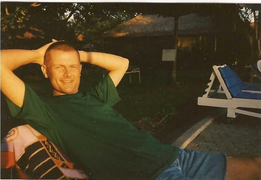 Ulli auf Lombok 1995