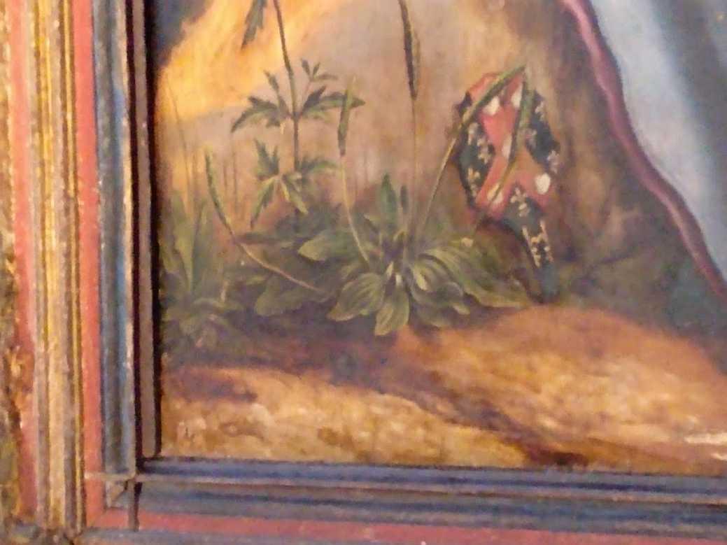 Darstellung von heilpflanzen simples auf dem Isenheimer Altar