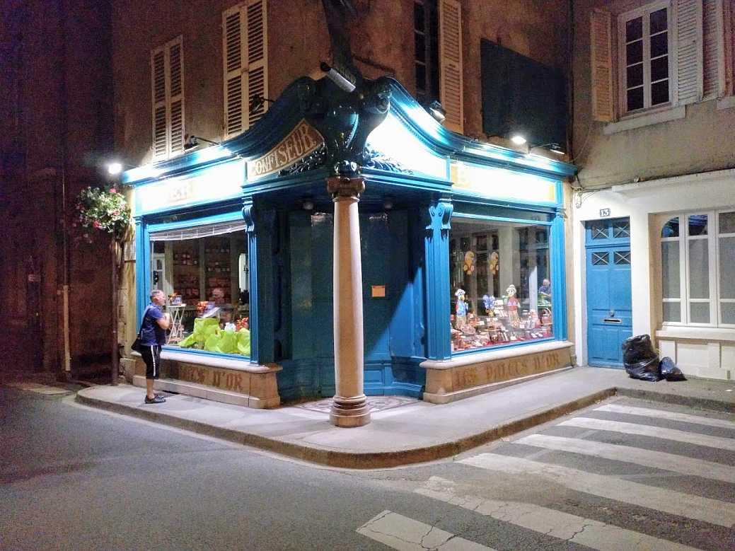 Les Palets d'Or Pralinen Geschäft in Moulins