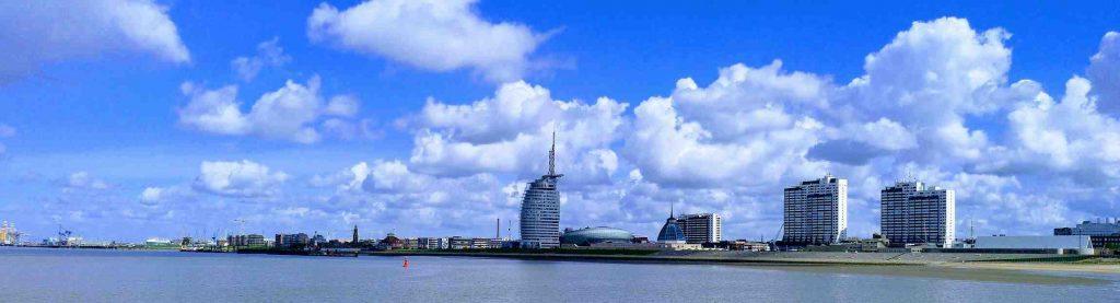 Bremerhaven Skyline 2019