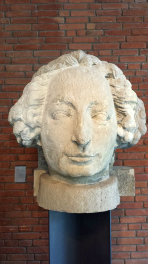 Kopf des Bremer Roland von 1404 bis 1983 (Focke Museum Bremen)