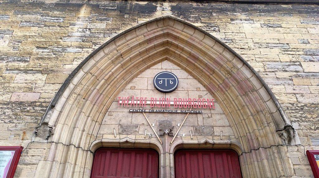 Säkularisierung in Frankreich - die Eglise Saint Jean in Dijon, in der Französischen Revolution säkularisiert und seit 1974 Sitz des Theaters des Burgund