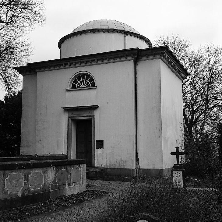 Sklavenhandel in Hamburg - Mausoleum Schimmelmann in Wandsbek