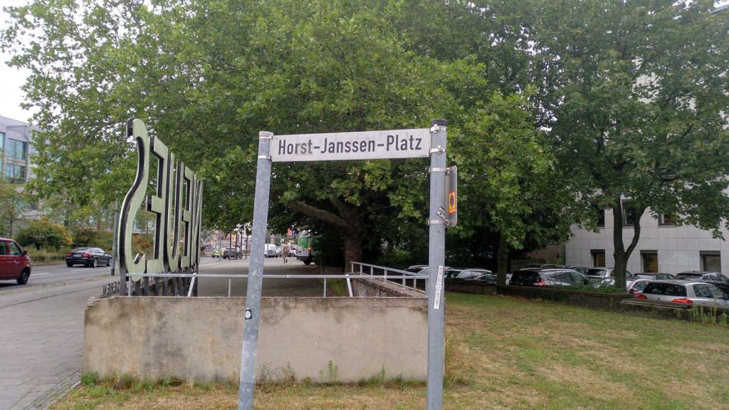 Horst Janssen Platz in Oldenburg