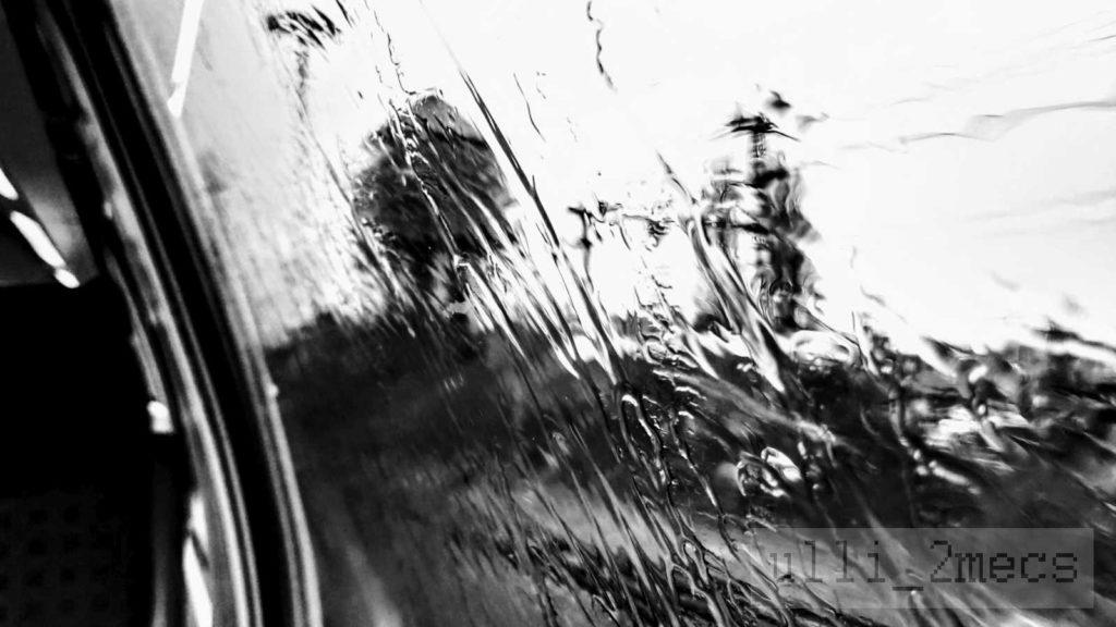 Bahnwasserturm Oldenburg im Regen